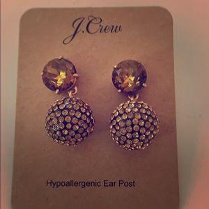 JCrew Glittery Hypoallergenic Earings